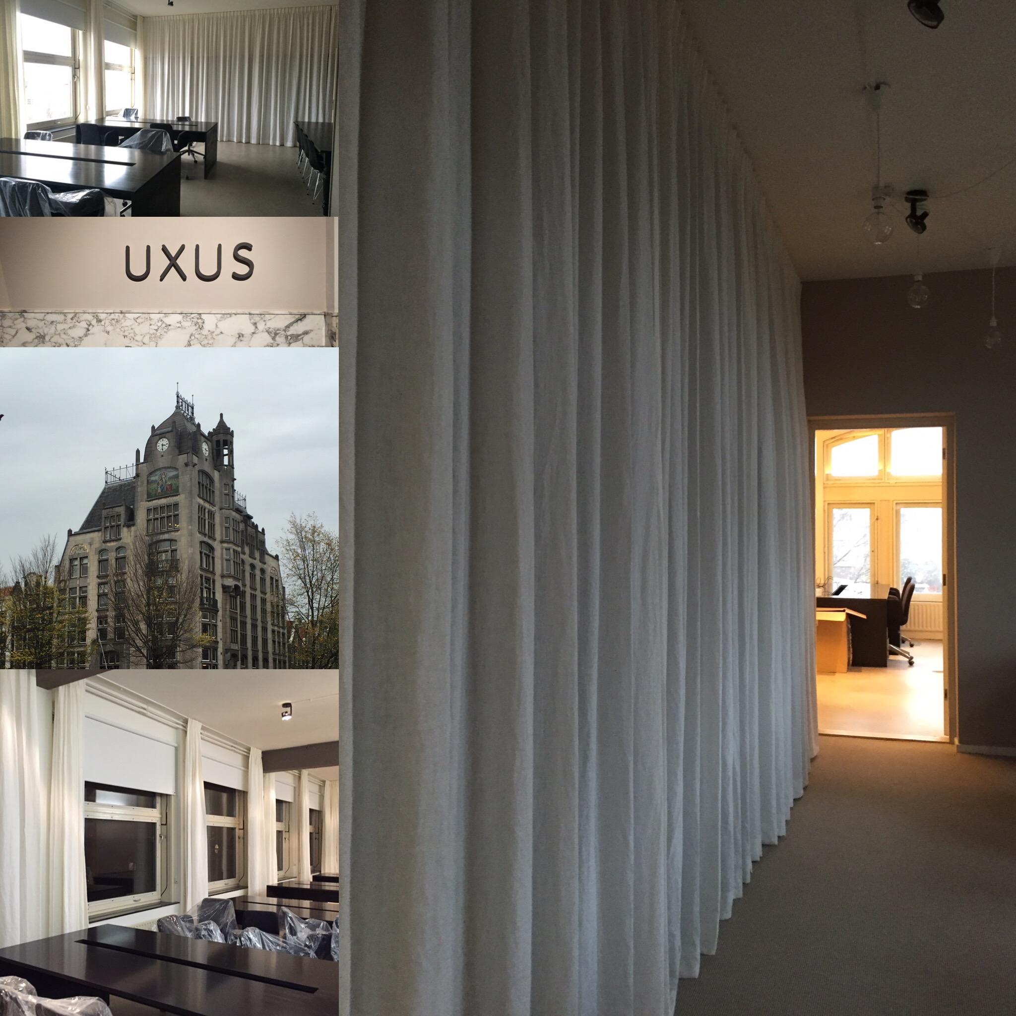 Kantoor UXUS Amsterdam