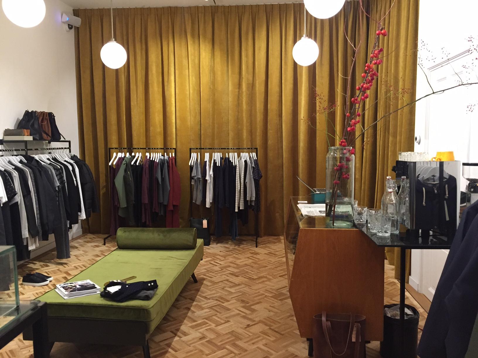 Winkel Suit in Amsterdam.